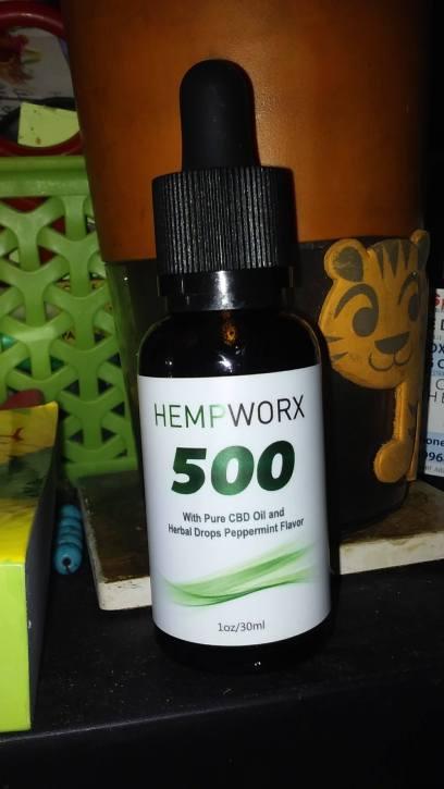 Hempworks 500 bottle